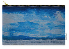 Waves Carry-all Pouch by Linda Bailey