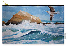 Waves Of The Sea Carry-all Pouch