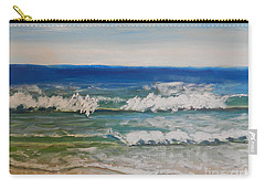 Waves Carry-all Pouch by Pamela  Meredith