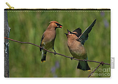 Waxwing Love.. Carry-all Pouch