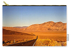 Way Open Road Carry-all Pouch by Byron Varvarigos
