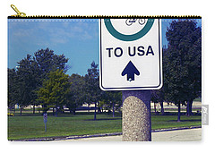 Way To The Usa Carry-all Pouch