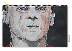 Wayne Rooney Carry-all Pouch by John Halliday