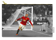 Wayne Rooney Scores Again Carry-all Pouch by Brian Reaves