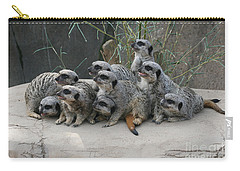 We Are Family Carry-all Pouch by Judy Whitton