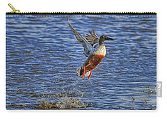 Carry-all Pouch featuring the photograph We Have Liftoff by Gary Holmes