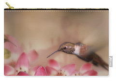 We Love Those Lilies Carry-all Pouch by Diane Schuster