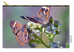 Carry-all Pouch featuring the photograph We Make A Beautiful Pair by Deena Stoddard