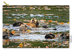 We Otter Be In Pictures Carry-all Pouch