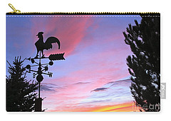 Weather Vane Sunset Carry-all Pouch