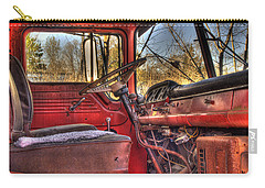 Weathered And Worn  Carry-all Pouch by Thomas Young