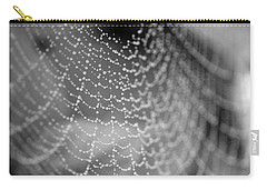 Web In The Rain Carry-all Pouch