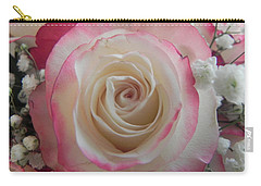 Carry-all Pouch featuring the photograph Wedding Bouquet by Deb Halloran