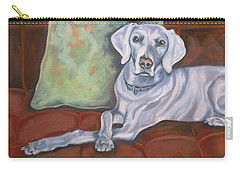 Weimaraner Reclining Carry-all Pouch
