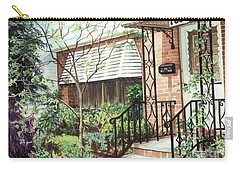 Carry-all Pouch featuring the painting Welcome Home by Barbara Jewell