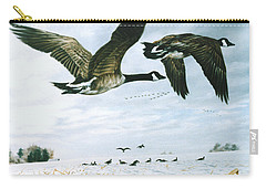 Welcome Home Carry-all Pouch by Craig T Burgwardt