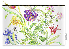 Welcome Spring I Carry-all Pouch by Kimberly McSparran