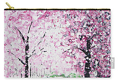 Welcome Spring Carry-all Pouch by Kume Bryant