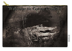 Welcome To Gator Country Carry-all Pouch