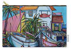 Welcome To Paradise Carry-all Pouch by Patti Schermerhorn