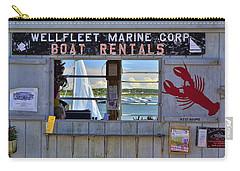 Wellfleet Harbor Thru The Window Carry-all Pouch
