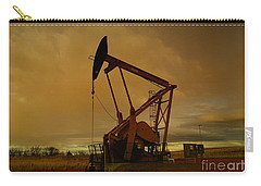Wellhead At Dusk Carry-all Pouch by Jeff Swan