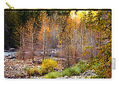 Wenatchee River - Leavenworth - Washington Carry-all Pouch