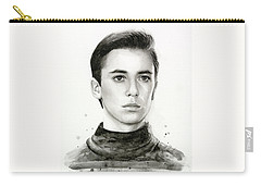Wesley Crusher Star Trek Fan Art Carry-all Pouch