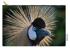 West African Crowned Crane Carry-all Pouch