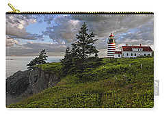 West Quoddy Head Lighthouse Panorama Carry-all Pouch