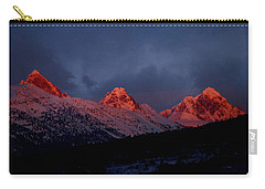 West Side Teton Sunset Carry-all Pouch
