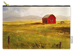 Western Barn Carry-all Pouch by Lee Piper