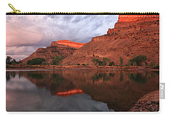 Carry-all Pouch featuring the photograph Western Colorado by Ronda Kimbrow