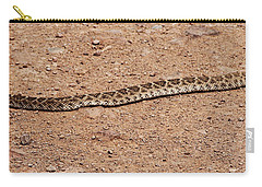 Western Diamondback Rattle Snake Carry-all Pouch