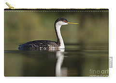 Western Grebe Carry-all Pouch by Bryan Keil