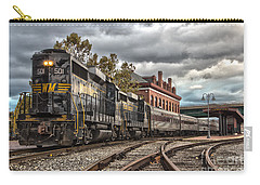Western Maryland Scenic Railroad Carry-all Pouch by Jeannette Hunt