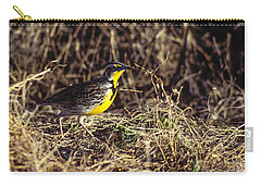Western Meadowlark Carry-all Pouch by Steven Ralser