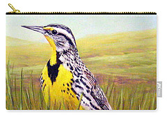 Western Meadowlark Carry-all Pouch
