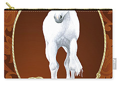 Western Roundup Standing Horse Carry-all Pouch