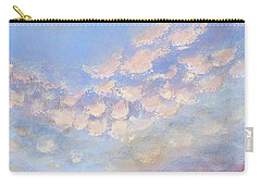 Carry-all Pouch featuring the painting Western Sunset by Margaret Bobb