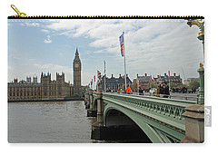 Westminster Bridge Carry-all Pouch by Tony Murtagh
