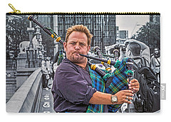 Westminster Piper Carry-all Pouch by Keith Armstrong