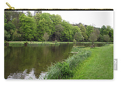 Carry-all Pouch featuring the photograph Weston Fishery by Jayne Wilson