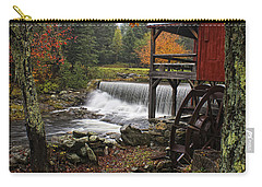 Weston Grist Mill Carry-all Pouch by Priscilla Burgers