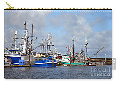 Westport Fishing Boats 2 Carry-all Pouch