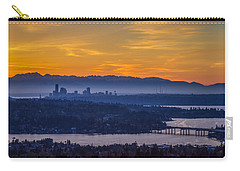 Carry-all Pouch featuring the photograph Gateway To Seattle by Ken Stanback