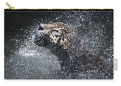 Wet Jaguar  Carry-all Pouch