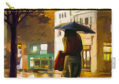 Wet Night Carry-all Pouch by Anthony Mwangi