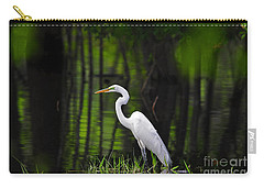 Wetland Wader Carry-all Pouch by Al Powell Photography USA