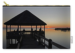 Carry-all Pouch featuring the photograph Whalehead Sunset Obx by Greg Reed